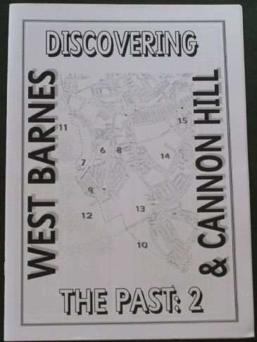 Discovering the Past 2 - West Barnes and Cannon Hill, by Peter Hopkins